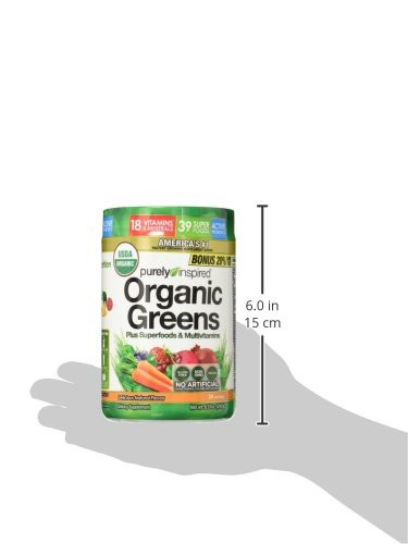 Purely Inspired Organic Greens  Purely Inspired Organic Greens USDA Organic Super Greens