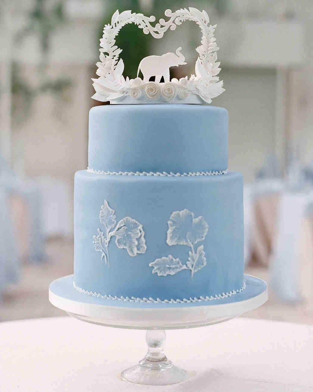 Purple And Blue Wedding Cakes  Blue and Purple Wedding Cakes