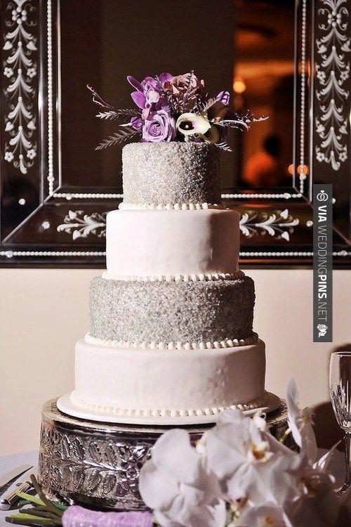 Purple And Grey Wedding Cakes  72 best Purple & Grey Wedding Inspiration images on