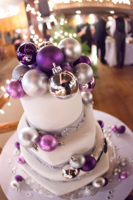 Purple And Grey Wedding Cakes  17 Best images about Wedding Ideas on Pinterest