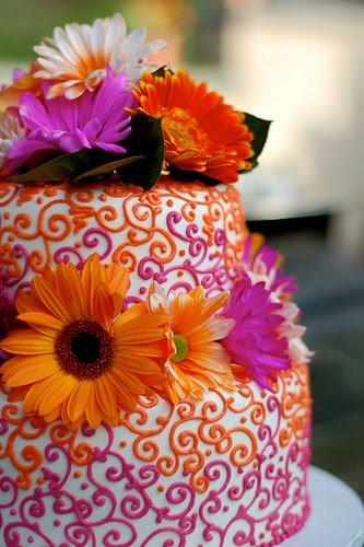 Purple And Orange Wedding Cakes  Purple Wedding Cakes For Your Wedding Parties