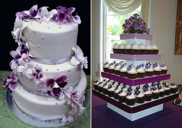 Purple Wedding Cakes Ideas  Purple Wedding Cakes 4