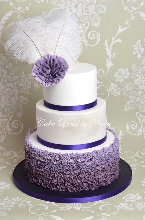 Purple Wedding Cakes Ideas  Wedding Ideas Purple Wedding theme