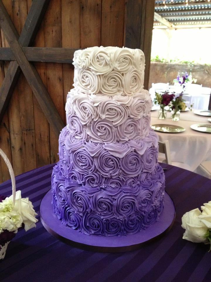 Purple Wedding Cakes Pictures  Southern Blue Celebrations Purple Wedding Cake Ideas