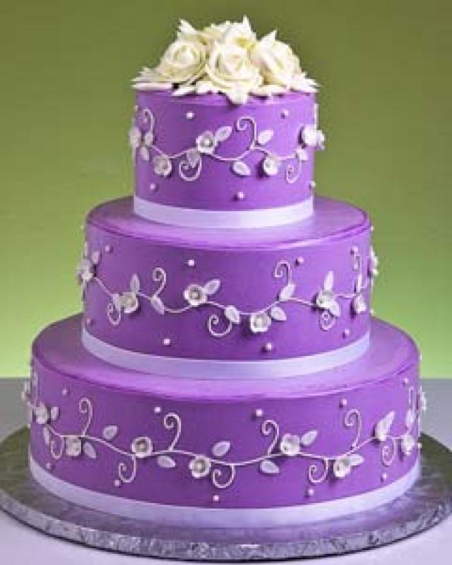 Purple Wedding Cakes Pictures  Purple Wedding Cakes Wedding and Bridal Inspiration