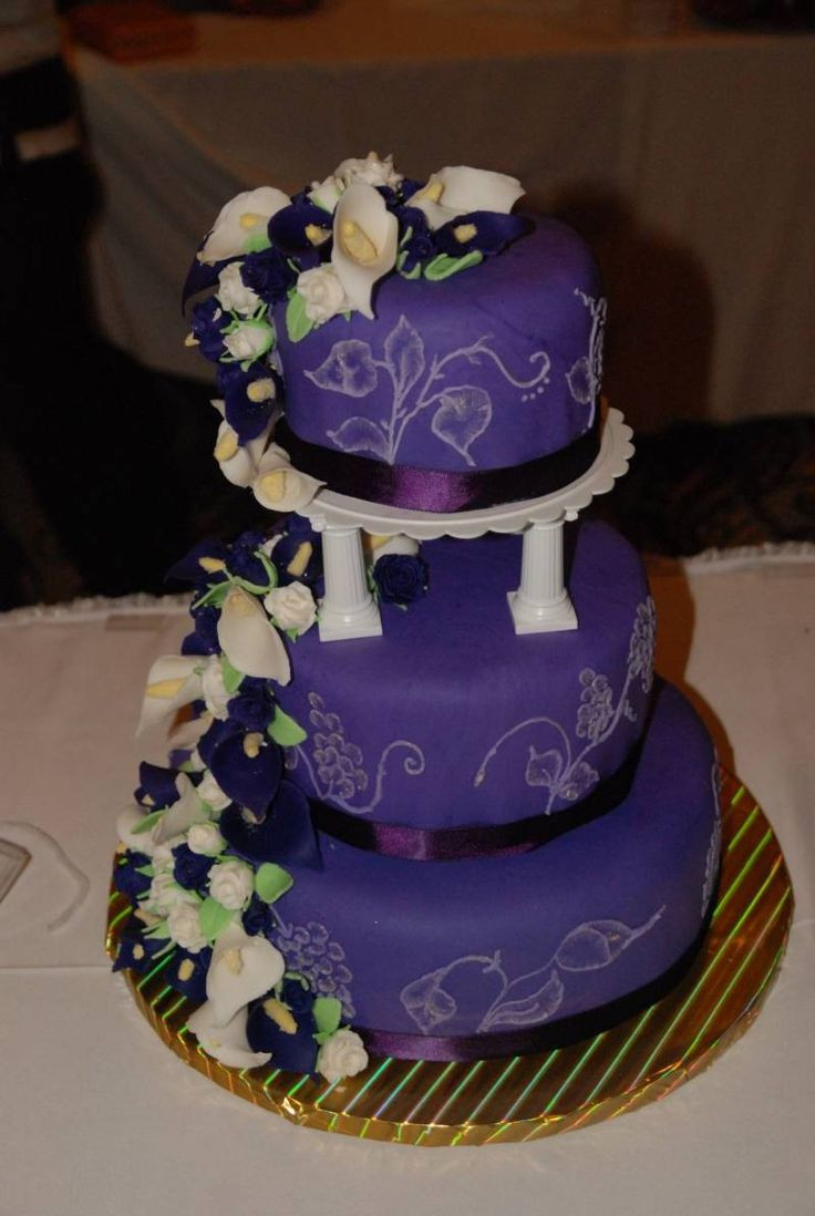 Purple Wedding Cakes With Prices  59 best images about Cake Boss on Pinterest