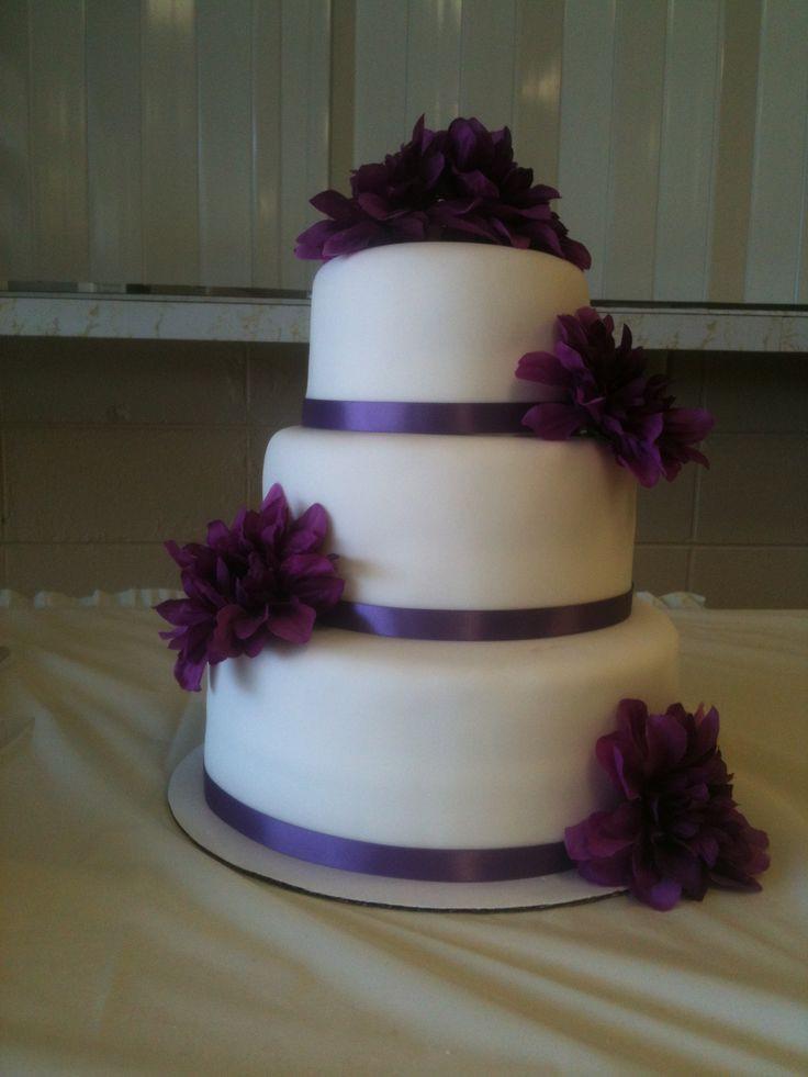 Purple Wedding Cakes With Prices  Simple purple wedding cakes idea in 2017