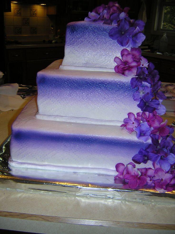 Purple Wedding Cakes With Prices  Purple wedding cakes pinterest idea in 2017