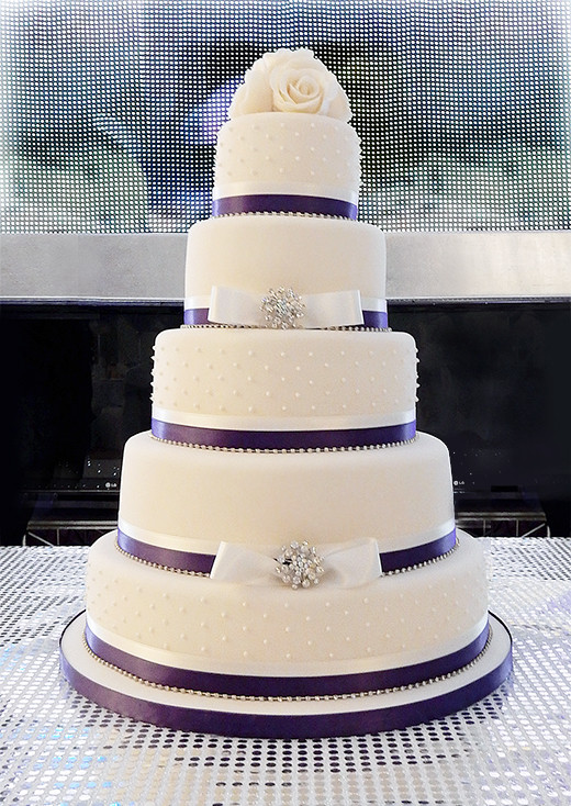 Purple Wedding Cakes With Prices  Purple wedding cakes with prices idea in 2017