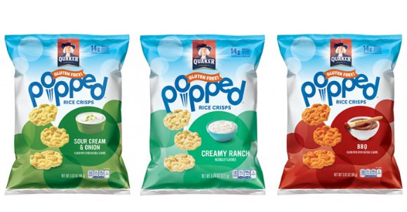 Quaker Popped Rice Snacks Healthy  Quaker Popped Rice Crisps only $ 92 at Homeland
