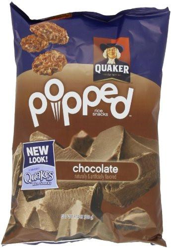 Quaker Popped Rice Snacks Healthy  Quaker Popped Rice Crisps Snacks Chocolate 7 04oz Bag