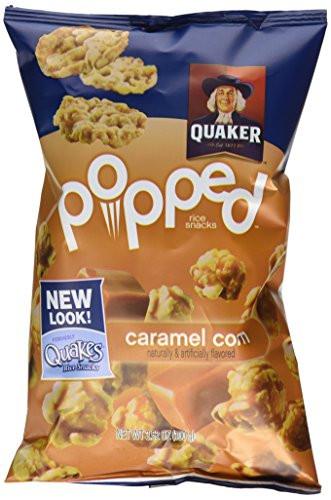 Quaker Popped Rice Snacks Healthy  Quaker Popped Rice Snacks Caramel Corn 3 52 oz Buy