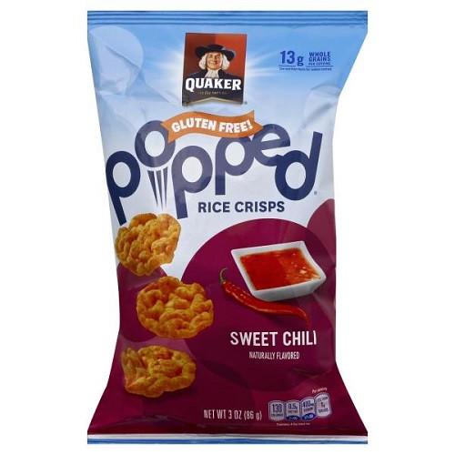Quaker Popped Rice Snacks Healthy  Quaker Popped Rice Crisps Sweet Chili 3 oz bag