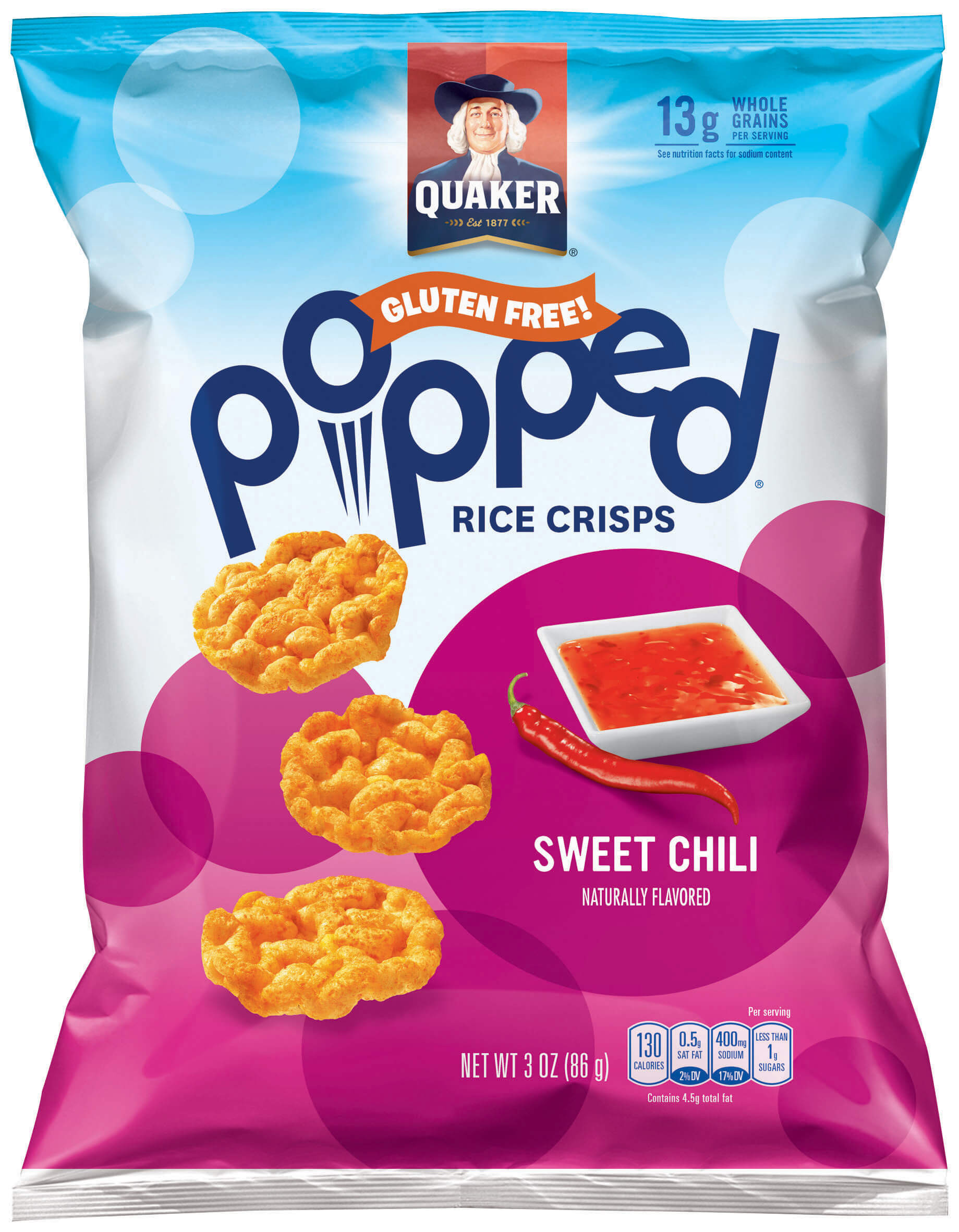 Quaker Popped Rice Snacks Healthy  Product Rice Snacks