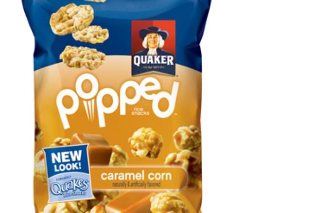 Quaker Popped Rice Snacks Healthy  Quaker Quakes Get New Look And Name—Quaker Popped