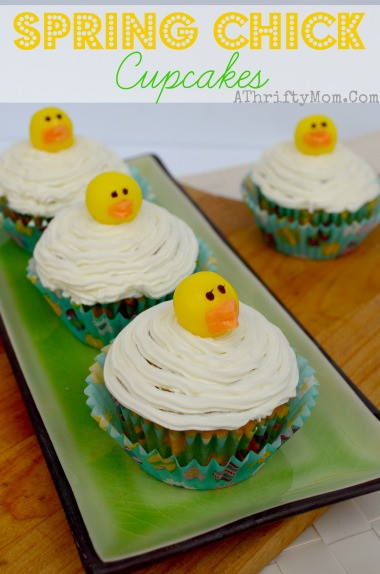 Quick And Easy Easter Desserts  Spring Chick Cupcakes Quick and Easy Easter Dessert A
