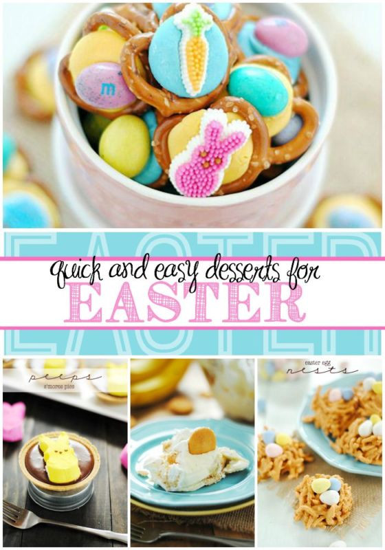 Quick And Easy Easter Desserts  Quick & Easy Easter Desserts