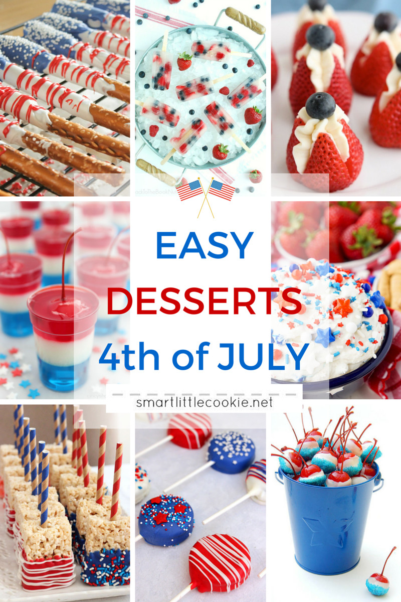 Quick And Easy Fourth Of July Desserts  Easy Desserts for 4th of July