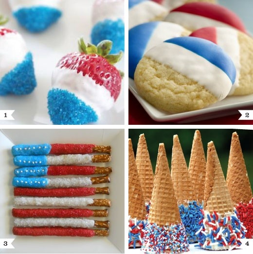 Quick And Easy Fourth Of July Desserts  Last minute 4th of July desserts