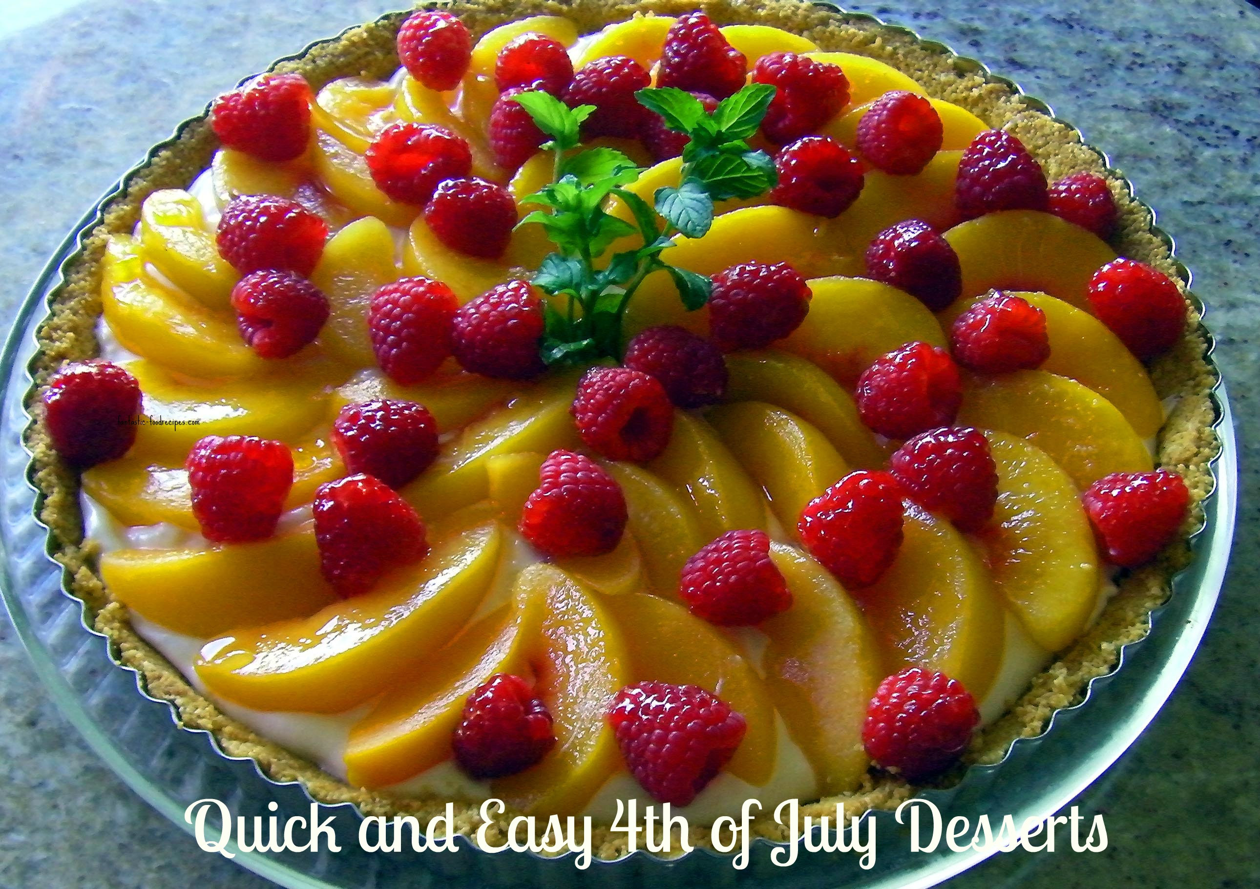 Quick And Easy Fourth Of July Desserts  Quick and Easy 4th of July Desserts