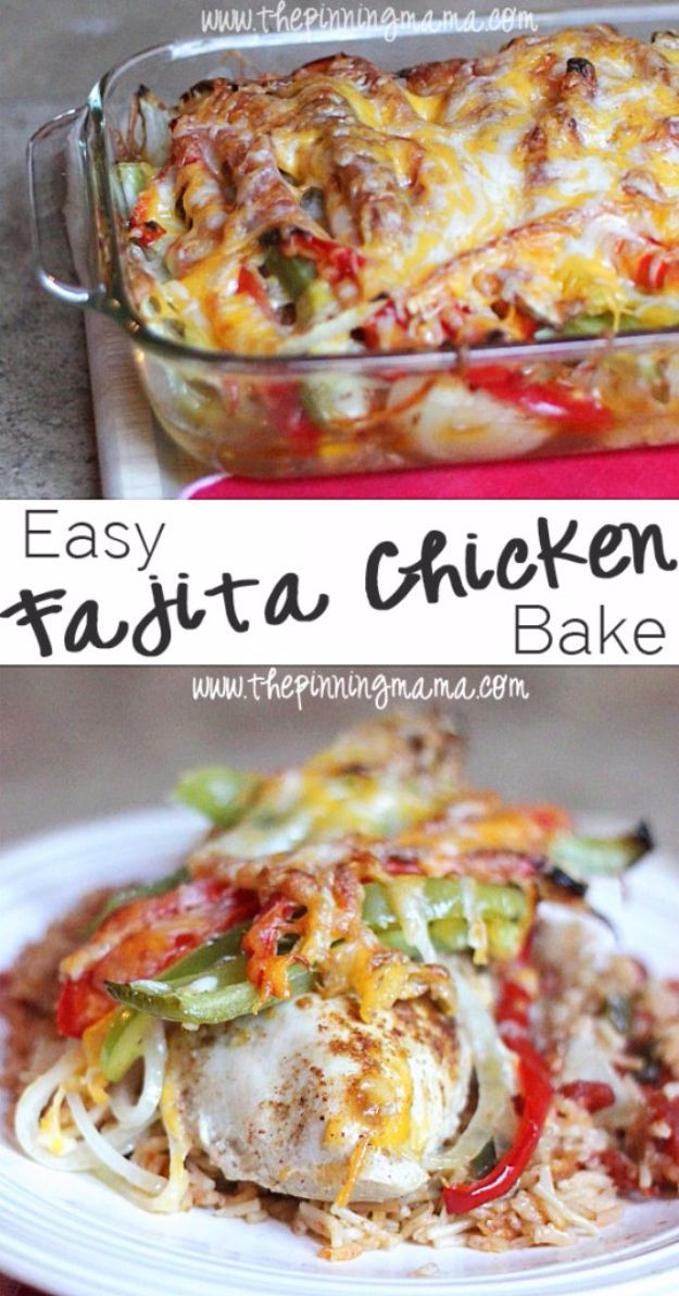 Quick And Easy Healthy Dinner Recipes  Quick and Healthy Dinner Recipes Easy Fajita Chicken