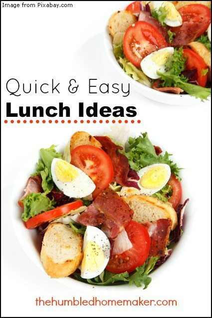 Quick And Easy Healthy Lunches  Quick & Easy Lunch Ideas Real Food Fast The Humbled