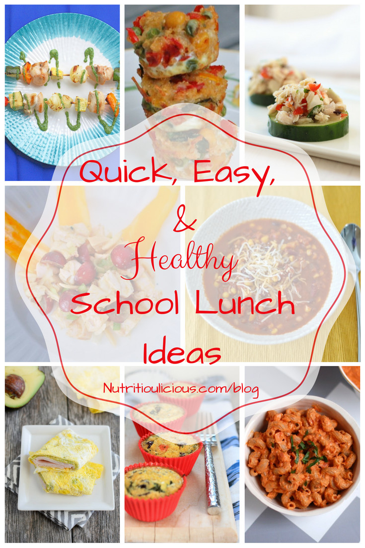 Quick And Easy Healthy Lunches  5 Quick Easy Healthy School Lunches for Your Kids Simple