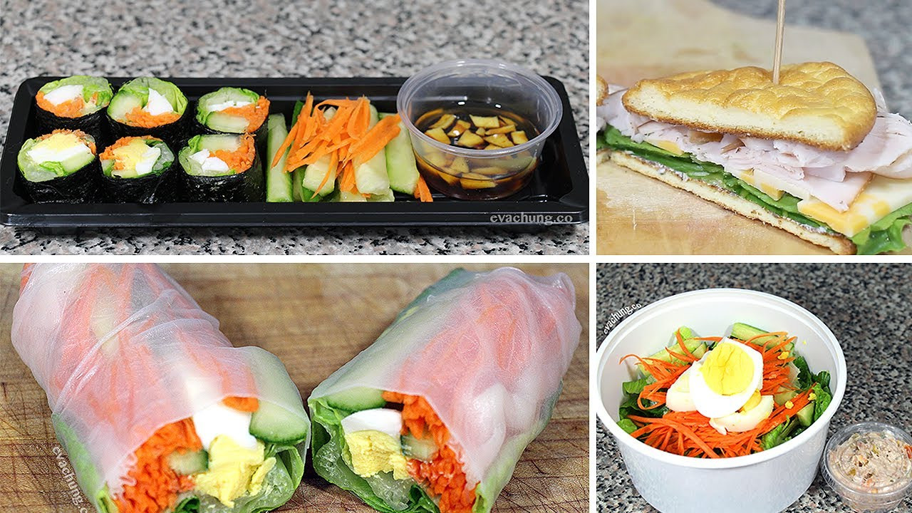 Quick And Easy Healthy Lunches  How to