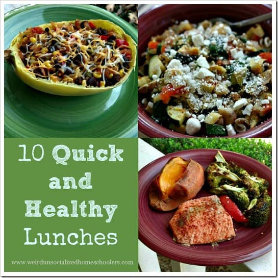 Quick And Easy Healthy Lunches  10 Quick and Healthy Lunches Weird Unsocialized
