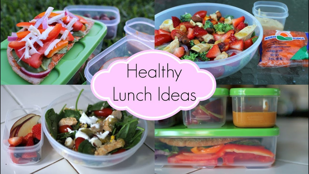 Quick And Easy Healthy Lunches  Healthy Lunch Ideas for School ♡ Quick and Easy