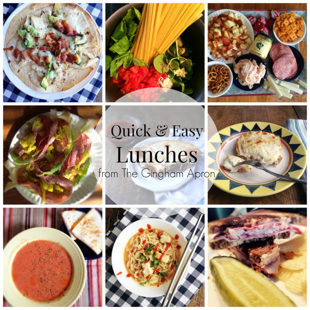 Quick And Easy Healthy Lunches  Quick and Easy Lunches