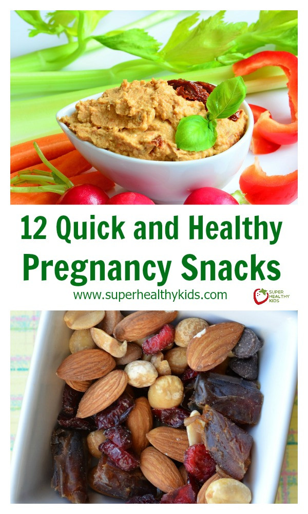 Quick And Easy Healthy Snacks  12 Quick and Healthy Pregnancy Snacks