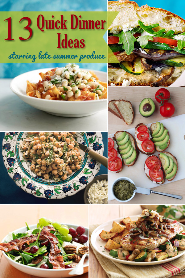 Quick And Easy Summer Dinners  JoAnn s Special Quick Dinners