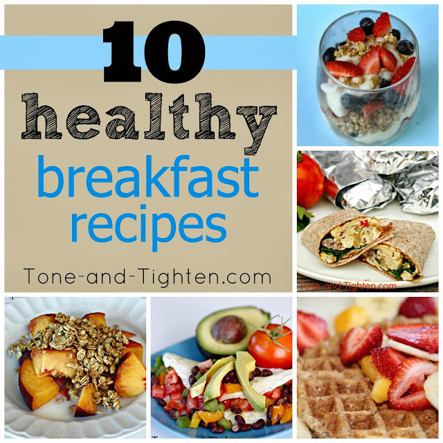 Quick And Healthy Breakfast  10 QUICK Healthy Breakfast Recipes