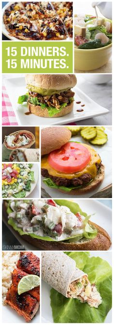Quick And Healthy Dinners  1000 images about Simple Dinners Quick & Easy Recipes on