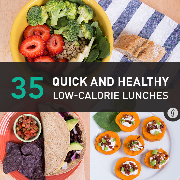 Quick And Healthy Lunches  Wel e To Mercyvill 35 Quick and Healthy Low Calorie