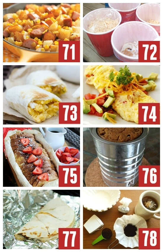 Quick Camping Dinners  101 MORE Genius Camping Ideas