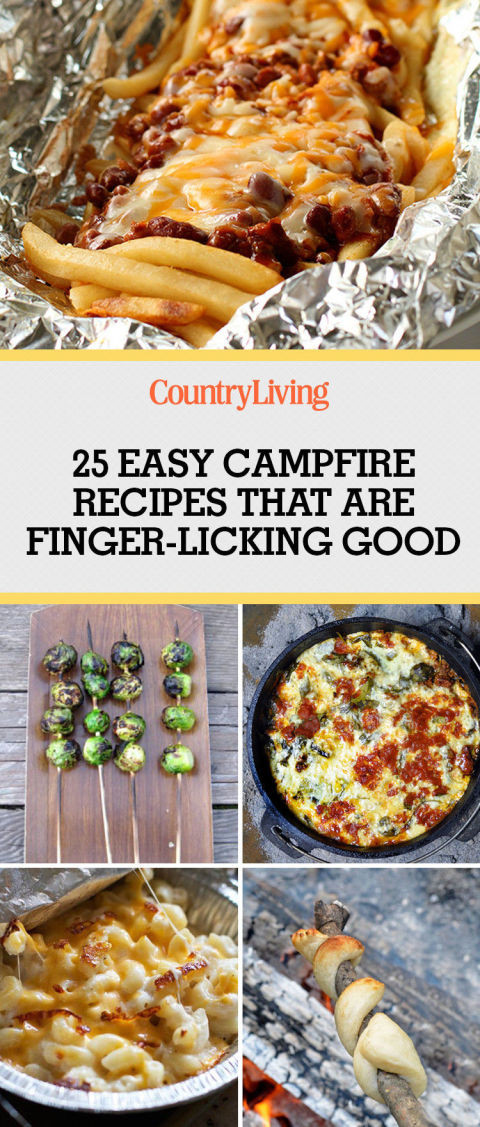 Quick Camping Dinners  28 Best Campfire Recipes Easy Camping Food Ideas