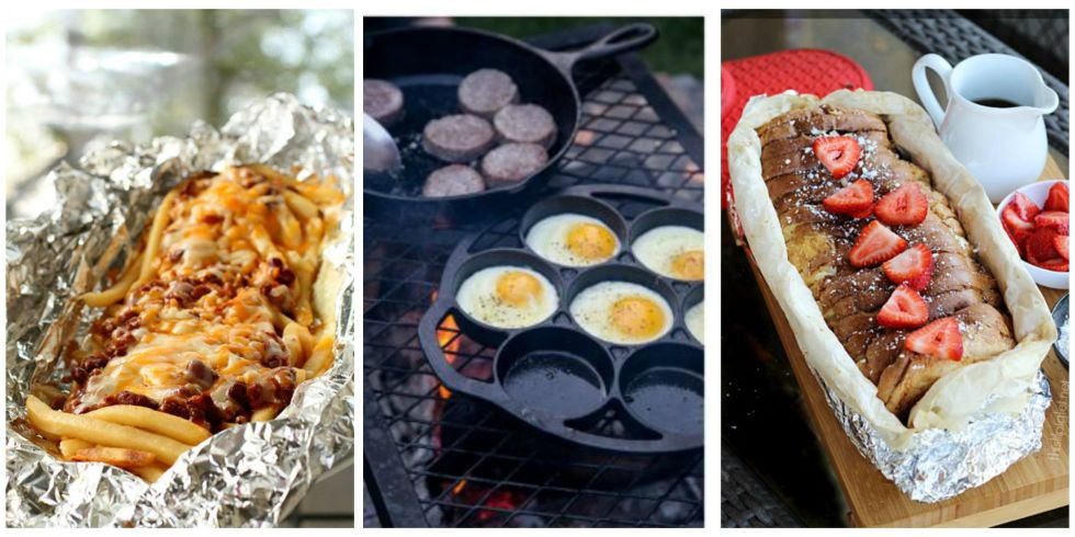 Quick Camping Dinners  Easy Quick And Tasty Camping Food Ideas – The Outdoor Champ