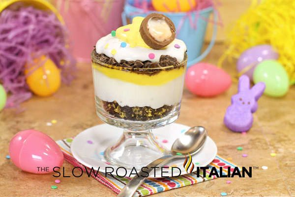 Quick Easter Desserts  Cadbury Egg Inspired Easter Trifle