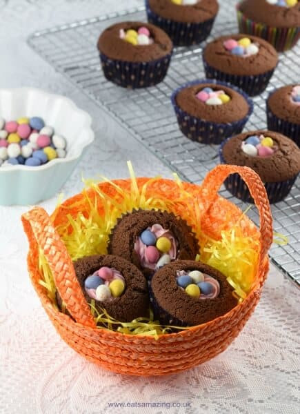 Quick Easter Desserts  Quick & Easy Easter Nest Cupcakes
