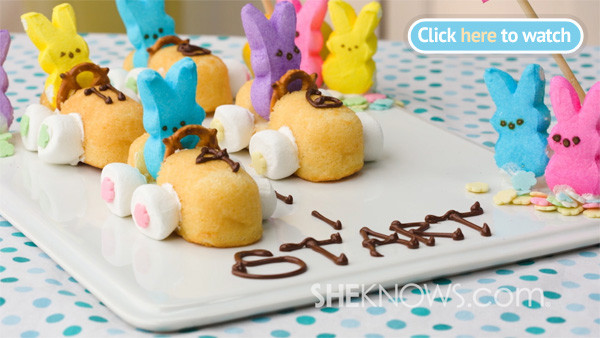 Quick Easy Easter Desserts  3 Quick and easy Easter Bunny inspired treats