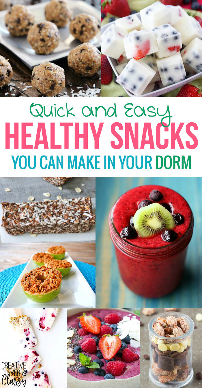 Quick Easy Healthy Snacks  Quick and Easy Healthy Snacks You Can Make in 15 Minutes