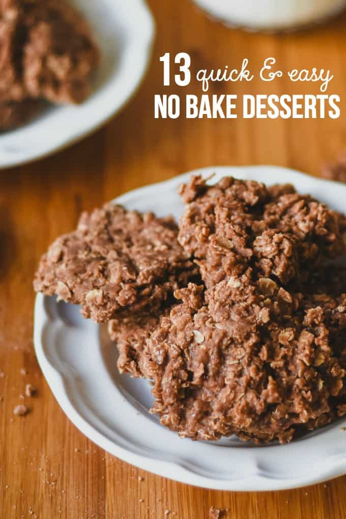 Quick Easy Summer Desserts  13 Quick & Easy No Bake Desserts Simply Stacie