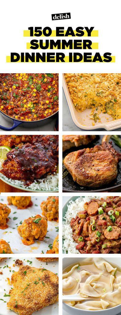 Quick Easy Summer Dinners  70 Easy Summer Dinner Recipes Best Ideas for Summer