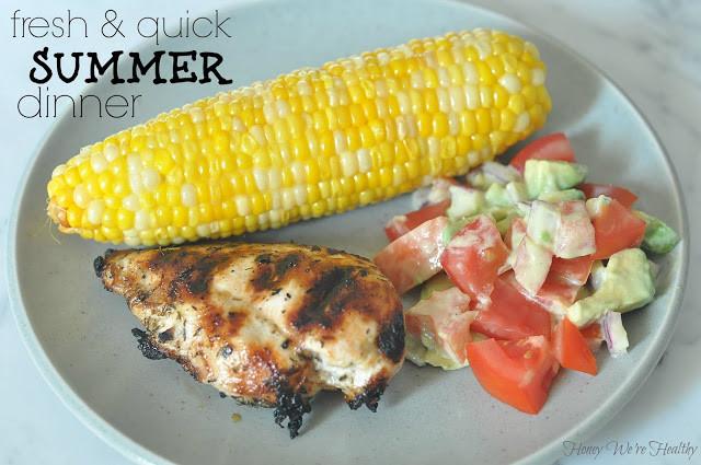 Quick Easy Summer Dinners  Fresh & Quick Summer Dinner