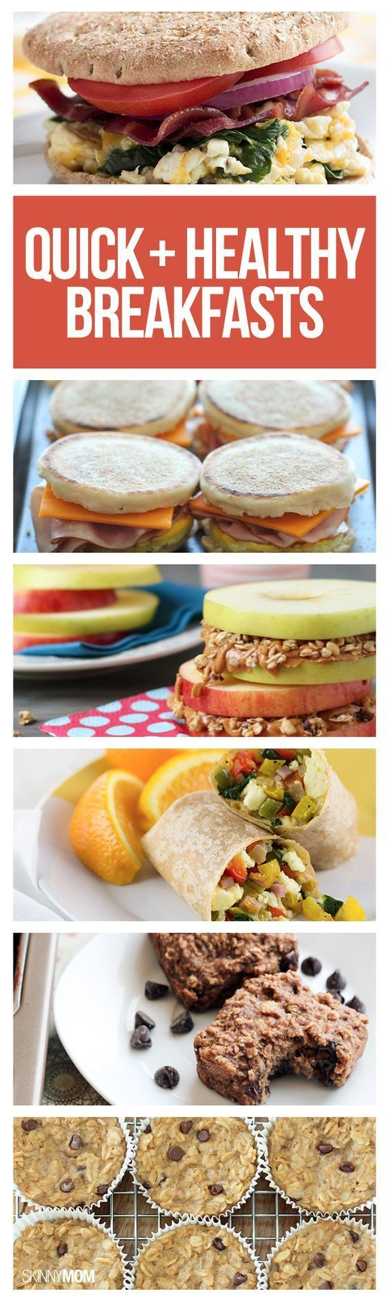 Quick Healthy Breakfast  17 Best images about Healthy Meals on Pinterest
