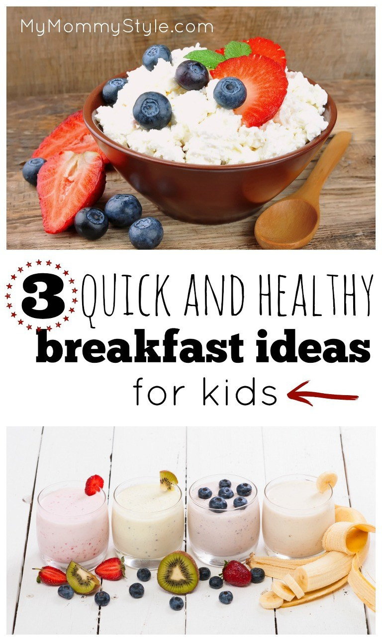 Quick Healthy Breakfast For Kids  Setting Yourself Up for New Year's Resolution Success My