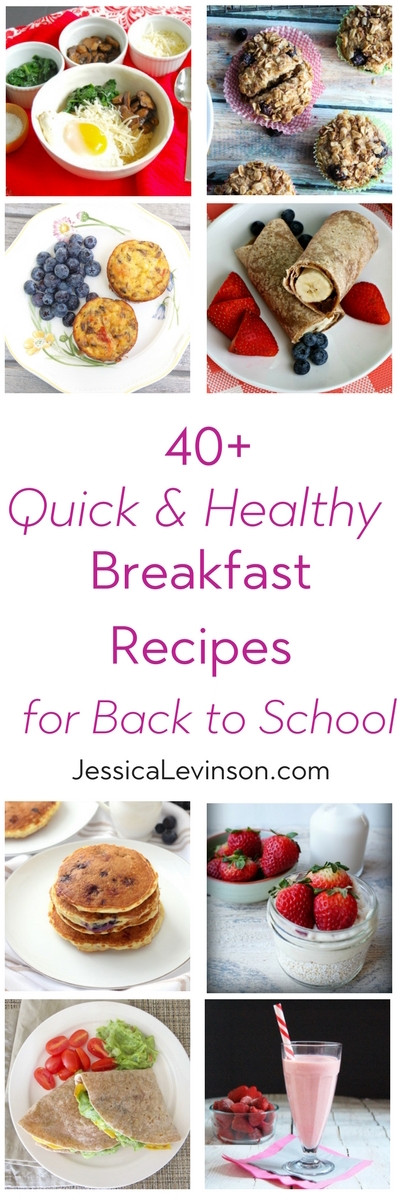 Quick Healthy Breakfast For Kids  40 Quick and Healthy Breakfast Recipes for Back to School