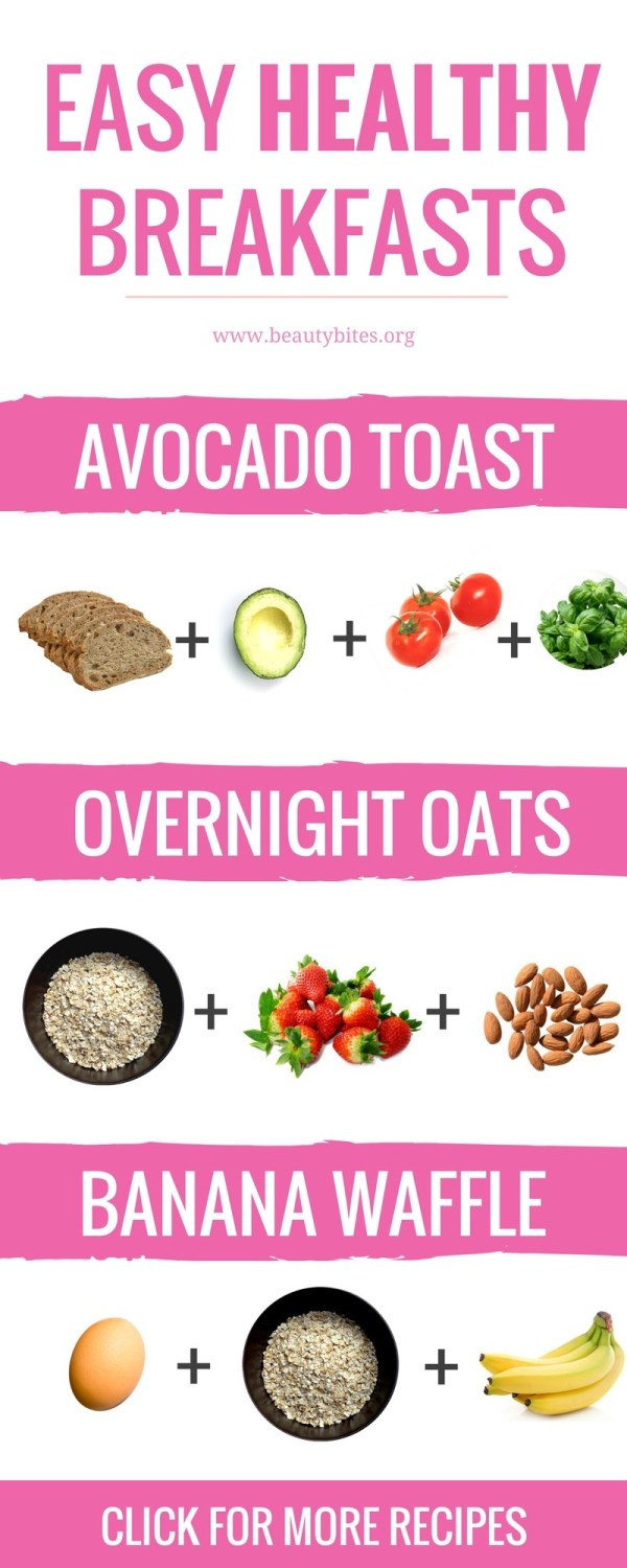 Quick Healthy Breakfast For Weight Loss  Easy Healthy Breakfasts To Start Your Day Right & Keep You